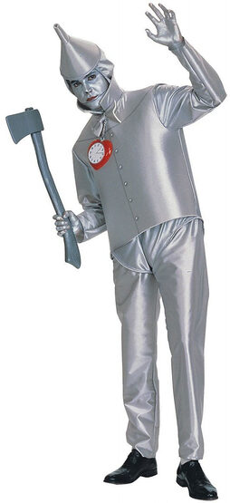Mens Wizard of Oz Tin Man Costume