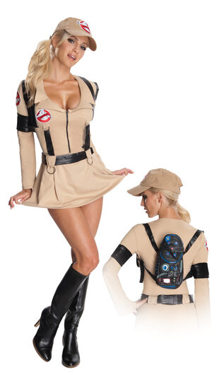 Sexy Secret Wishes Ghostbuster Girl - Adult Costume