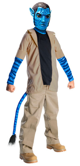 Jake Sully Avatar Kids Costume