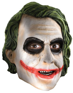Adult Joker - 3/4 -Vinyl Mask