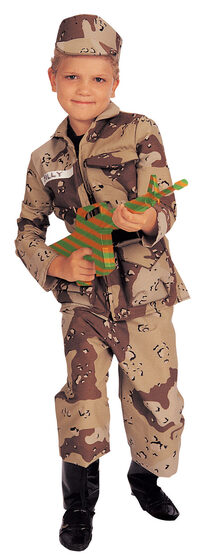 Special Forces Deluxe Kids Army Costume