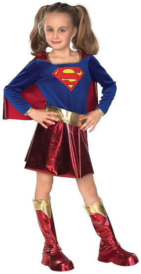 Supergirl Ultra Deluxe Kids Costume