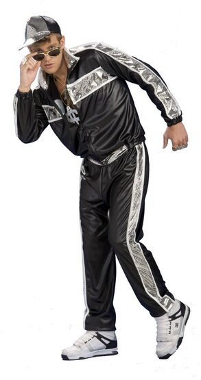 Mens Rap Idol Adult Costume