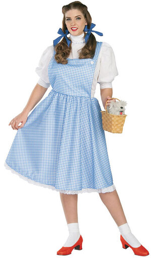 Wizard of Oz Dorothy Plus Size Costume