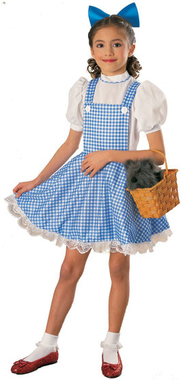 Wizard of Oz Dorothy Deluxe Kids Costume