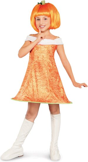 Pumpkin Spice Kids Costume
