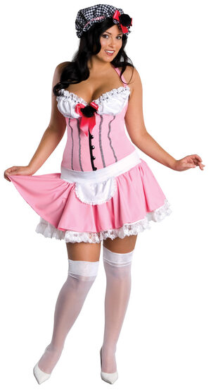 Miss Tuffett Plus Size Sexy Costume