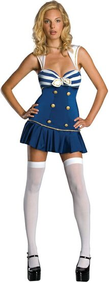 Anchors Away Sexy Sailor Costume