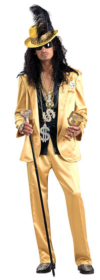Gold Hustlah Adult Pimp Costume