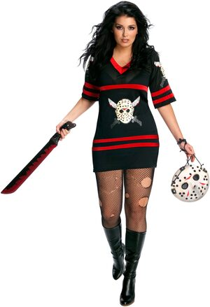 Womens Miss Voorhees Plus Size Costume