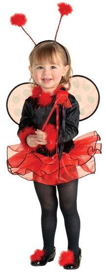 Ladybug Ballerina Toddler Costume