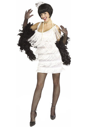 1920s Broadway Babe Sexy Flapper Costume