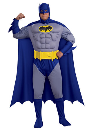 Batman Muscle Chest Deluxe Plus Size Costume