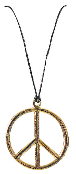 Peace Pendant - Hippie Costume Accessory