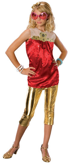 High School Musical Sharpay End Of Year Deluxe Kids Costume