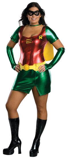 Sexy Plus Size Robin Costume