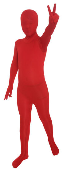 Red Morphsuit Kids Costume