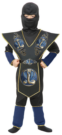 Cobra Shield Ninja Warrior Kids Costume