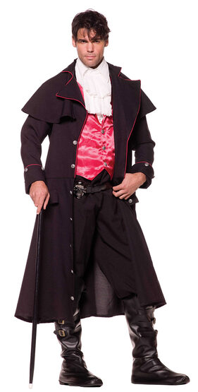Mens Sexy Count Vampire Costume
