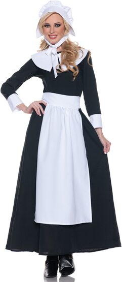 Womens Adult Pilgrim Costume