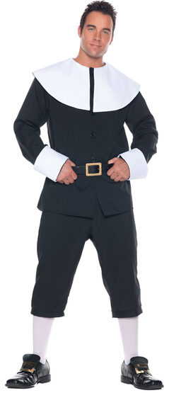 Mens Adult Pilgrim Costume