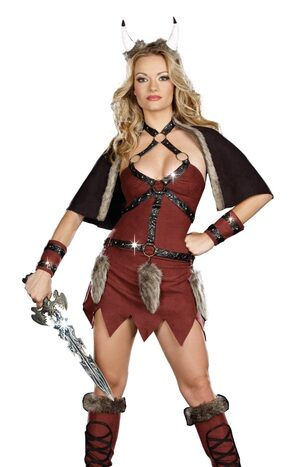 Sexy Viking Warrior Costume