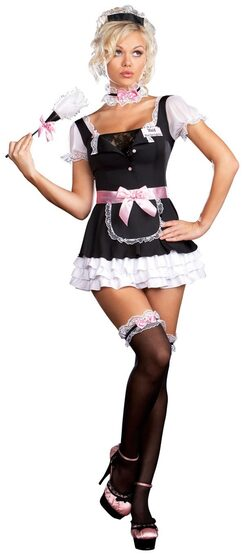Miss Dee Lightful French Maid Sexy Costume