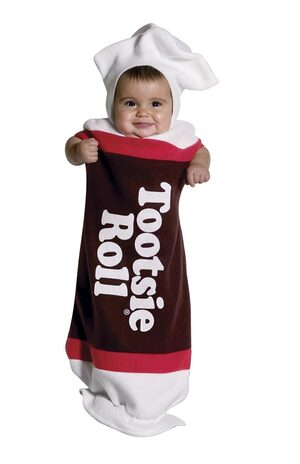 Infant Tootsie Roll Baby Costume