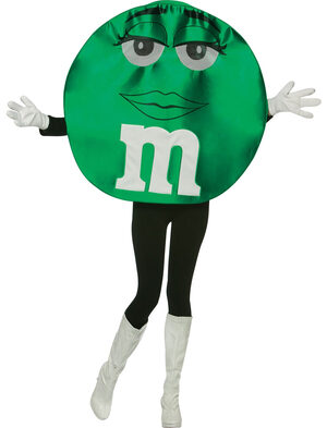 Green M and M Deluxe Adult Costume