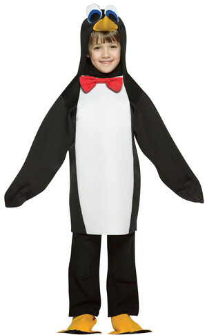 Lightweight Penguin Kids Costume