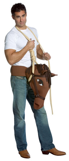 Hung Like a Horse Funny Adult Costume