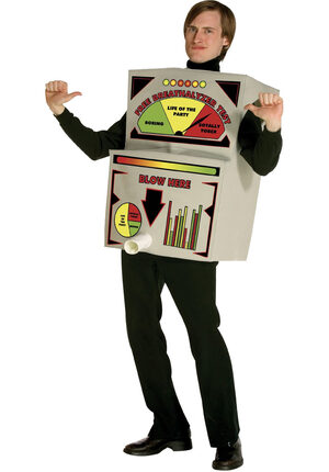 Breathalyzer Funny Adult Costume
