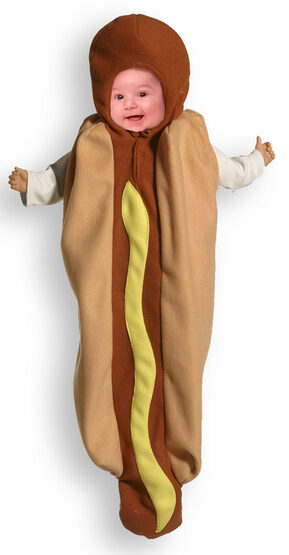 Baby Bunting Infant Hot Dog Costume
