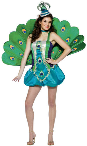 Womens Peacock Sexy Costume