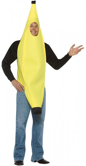 Lightweight Banana Adult Costume