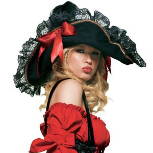 Womens Swashbuckler Pirate Hat