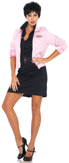 Pink Ladies Grease Jacket Adult Costume