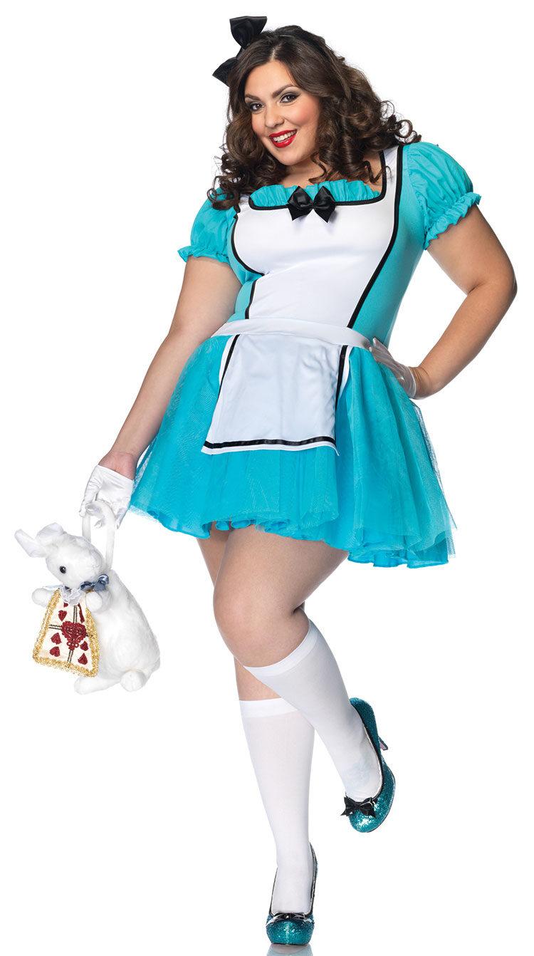 Enchanted Alice in Wonderland Plus Size Costume  sc 1 st  Mr. Costumes & Enchanted Alice in Wonderland Plus Size Costume - Mr. Costumes