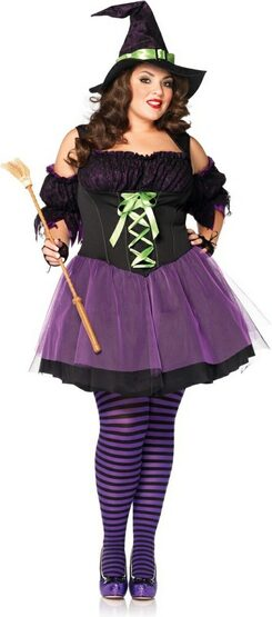 Superstition Vixen Witch Plus Size Costume