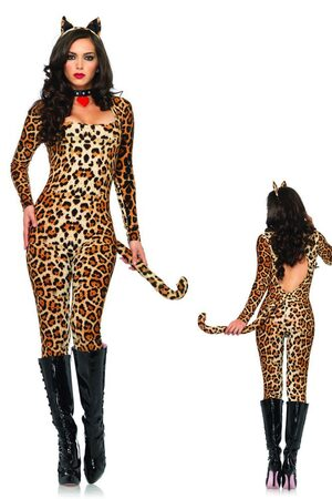 Womens Sexy Cougar Costume