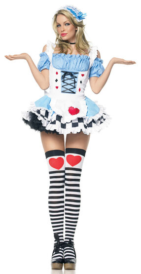 Miss Wonderland Sexy Alice Costume