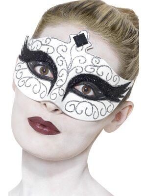 Gothic Dark Swan Eyemask