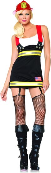 Backdraft Babe Sexy Firefighter Costume