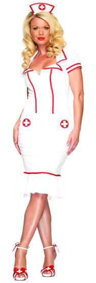 Miss Diagnosis Sexy Nurse Costume