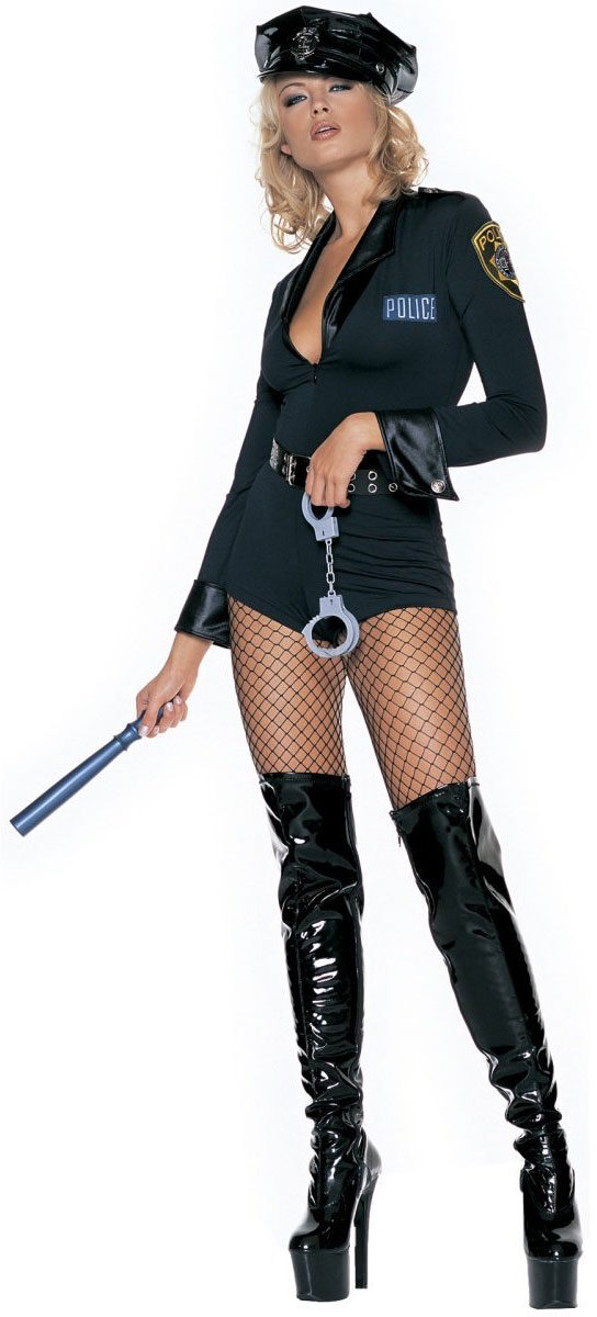 Police Woman Sexy Cop Costume  sc 1 st  Mr. Costumes & Police Woman Sexy Cop Costume - Mr. Costumes
