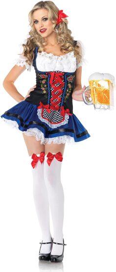Sexy Flirty Frauline Beer Girl Costume