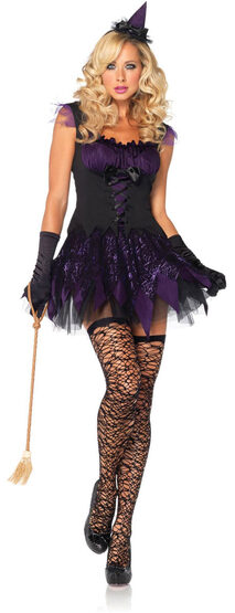 Sexy Enchanting Mistress Witch Costume