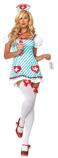 Holly Heartstopper Sexy Nurse Costume