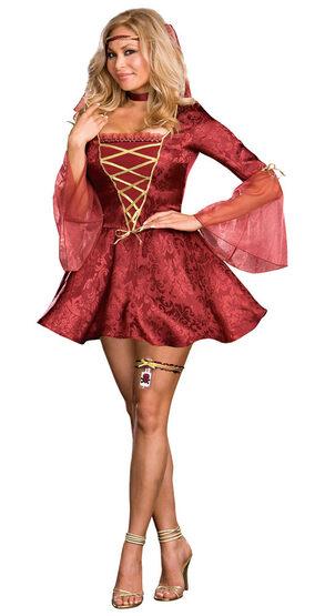 Juliet Plus Size Sexy Renaissance Costume