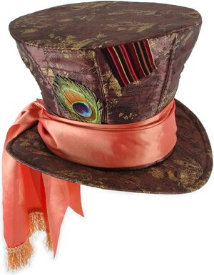 Adult Deluxe Disney Mad Hatter Hat